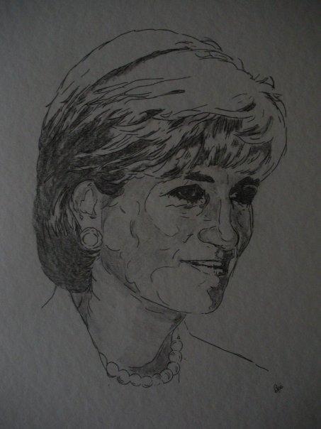 Lady Diana por Beatriz.ch